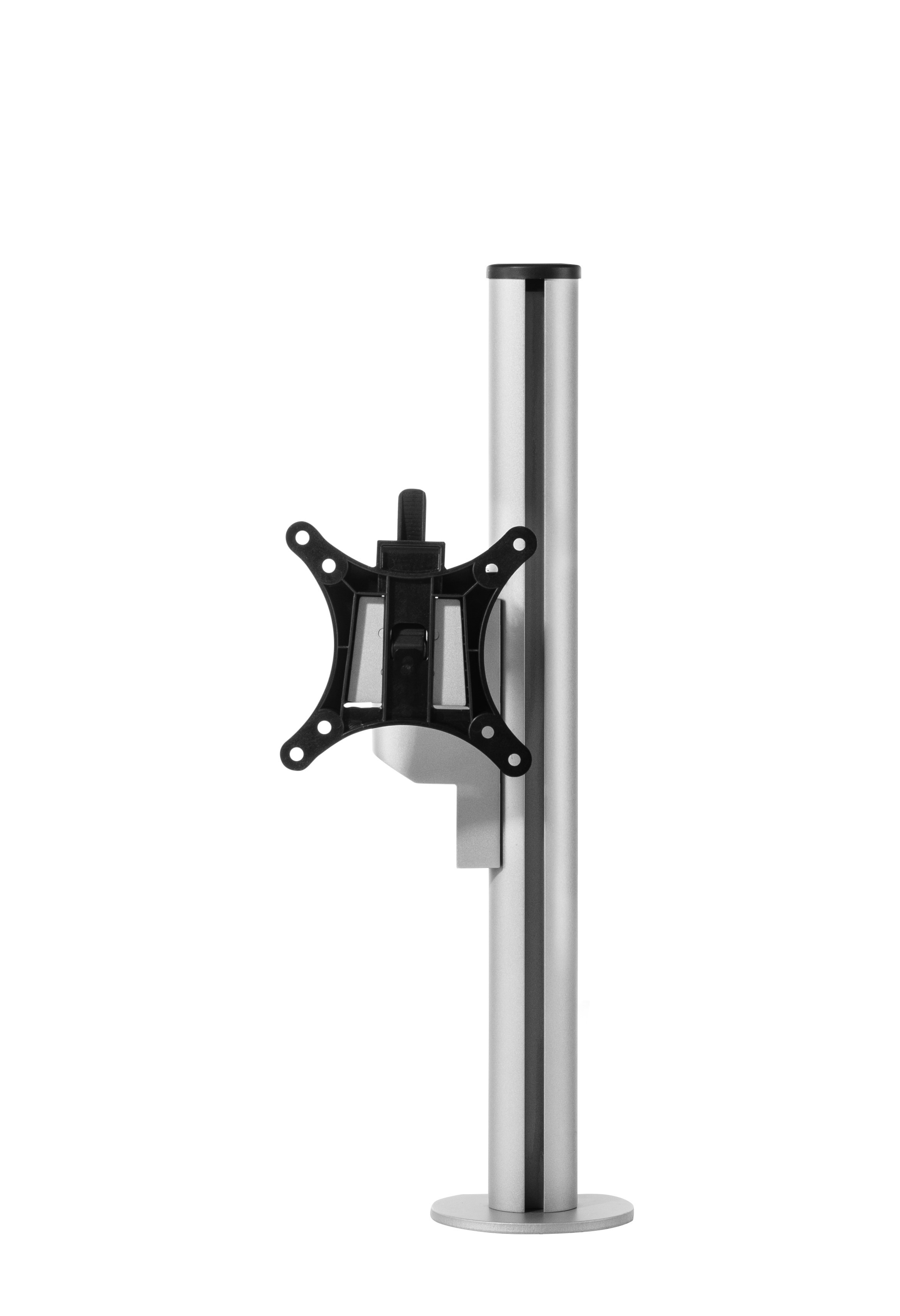 Galaxy Single Monitorarm Short - Zilver
