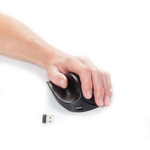 HandShoeMouse BRT LC Small Links Draadloos - ergonomische muis