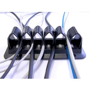 Kabelgrip Zwart - kabelmanagement