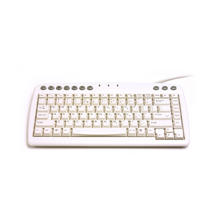 Q-Board Ivory Mini Keyboard – minitoetsenbord