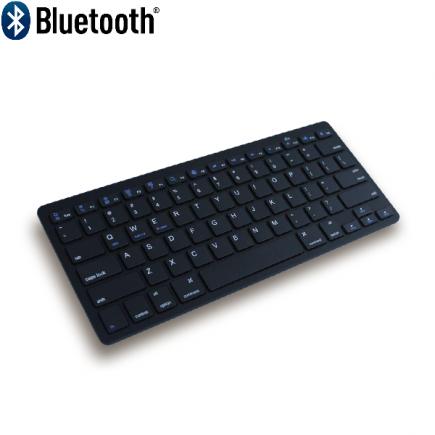 Ergo Compact Toetsenbord Zwart Bluetooth 5.0 (Ergosupply)