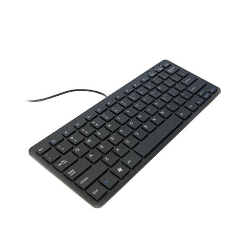 Ergo Compact Toetsenbord Zwart