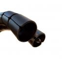 Kabelslurf Zwart 8-vormig - kabelmanagement