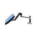 LX Desk Mount Zilver - monitorarm