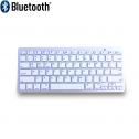 Ergo Compact Toetsenbord Zilver (Bluetooth) – minitoetsenbord