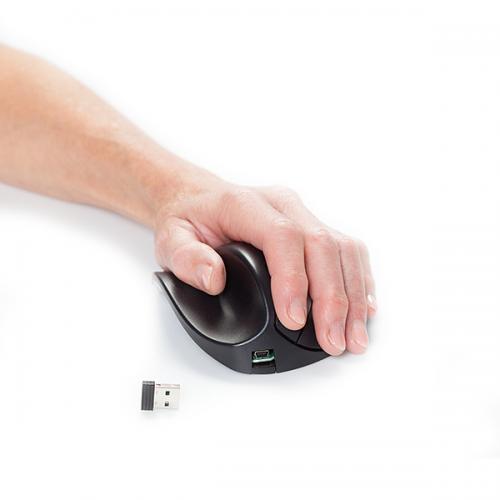HandShoeMouse BRT LC Medium Links draadloos - ergonomische muis