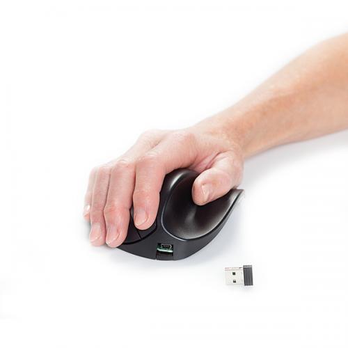 Handshoemouse BRT LC Large Draadloos - ergonomische muis