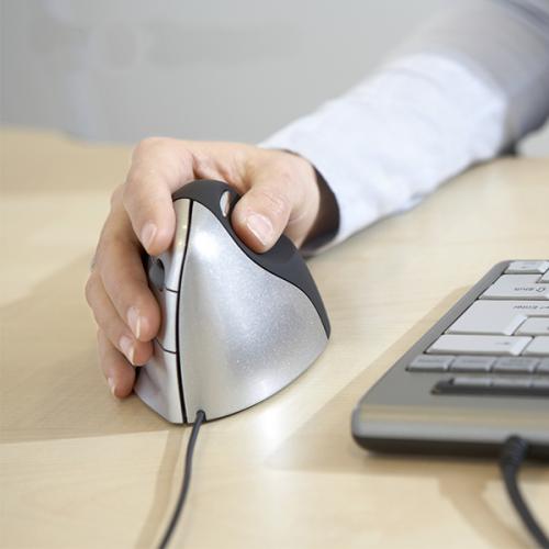 Evoluent 3 Verticale Muis Rechtshandig - ergonomische muis